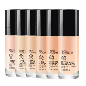 Buy The Body Shop Fresh Nude Foundation - Nykaa