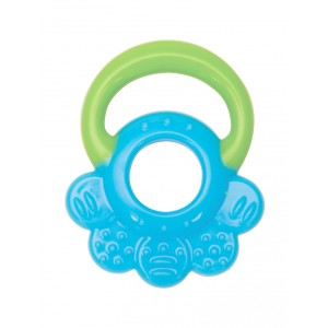 Buy Mee Mee'S Baby Multi-Textured Silicone Teether - Green, Blue - Nykaa