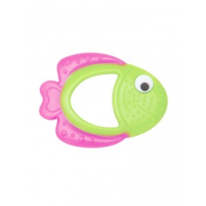 Buy Mee Mee'S Baby Multi-Textured Silicone Teether - Pink, Green - Nykaa