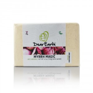 Buy Dear Earth Myrrh Magic Anti-Wrinkle Organic And Vegan Soap - 150g - Nykaa