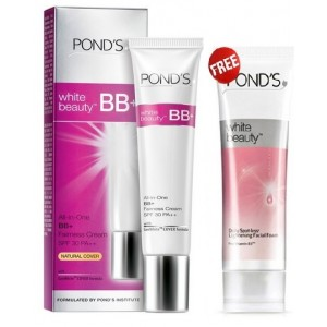 Buy Ponds White Beauty BB+ Spotless Kit With Free Ponds Facial Foam - Nykaa