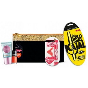 Buy Maybelline New York Makeup Essential Coral Pouch  - Nykaa