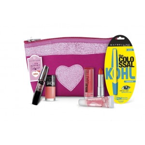 Buy Maybelline New York Instaglam Valentine's Gift Kit  ? Coral - Nykaa