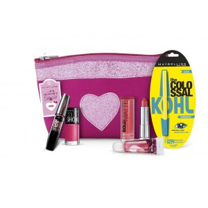 Buy Maybelline New York Instaglam Valentine's Gift Kit ? Pink - Nykaa