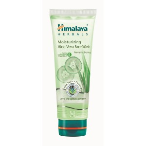 Buy Himalaya Herbals Moisturizing Aloe Vera Face Wash - Nykaa
