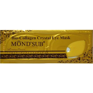Buy Mond'Sub Crystal Collagen Gold Eye Mask - Nykaa