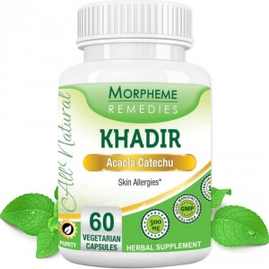 Buy Morpheme Remediess Khadir (Acacia Catechu) for Skin Allergies - 500mg Extract - Nykaa