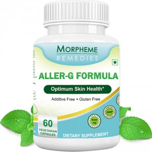 Buy Morpheme Remedies Aller-G Capsules For Skin Health - 600mg Extract - Nykaa