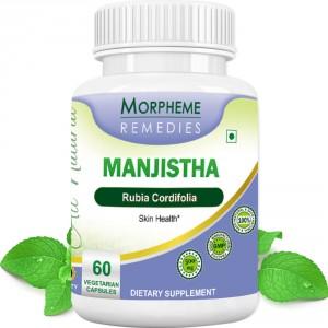 Buy Morpheme Remedies Manjistha (Rubia Cordifolia) For Skin Health - 500mg Extract - Nykaa