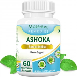 Buy Morpheme Remedies Ashoka Capsules for Uterine Support - 500mg Extract - Nykaa