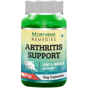 Buy Morpheme Remedies Arthritis Support For Joint & Muscle Support - 600mg Extract - Nykaa