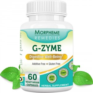 Buy Morpheme Remediess G-Zyme Capsules Digestive Well Being - 500mg Extract - Nykaa