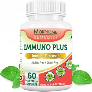 Buy Morpheme Remediess Immuno Plus For Immune Defense - 500mg Extract - Nykaa