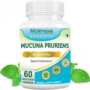 Buy Morpheme Remedies Mucuna Pruriens (Kapikachhu) - For Mood & Performance - 500mg Extract - Nykaa