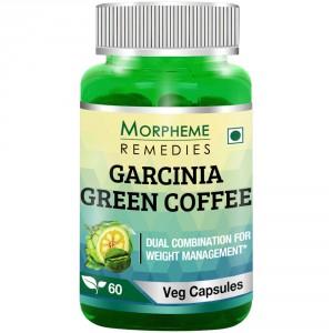 Buy Morpheme Remedies Garcinia Green Coffee 500mg Extract - Nykaa