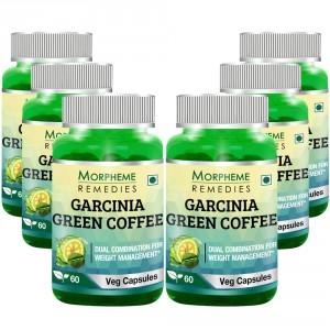 Buy Morpheme Remedies Garcinia Green Coffee 500mg Extract - 6 Bottles - Nykaa