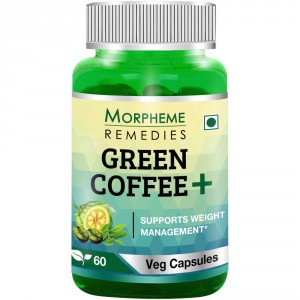 Buy Morpheme Remedies Green Coffee+ Weight Management Capsule - Nykaa