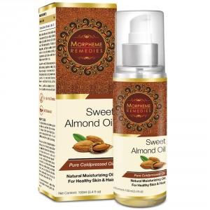 Buy Morpheme Remedies Pure Coldpressed Sweet Almond Oil - Nykaa