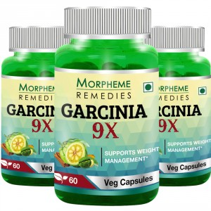 Buy Morpheme Remedies Garcinia 9X For Weight Management (Pack of 3) - Nykaa