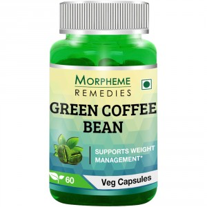 Buy Morpheme Remedies Green Coffee Bean Extract 60 Veg Capsules - Nykaa