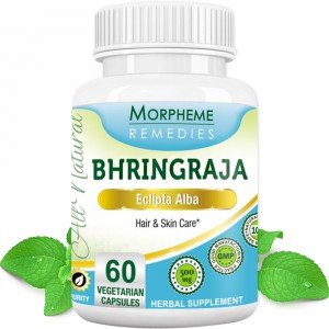 Buy Morpheme Remedies Bhringraja (Eclipta Alba) for Hair & Skin Care - 500mg Extract - Nykaa