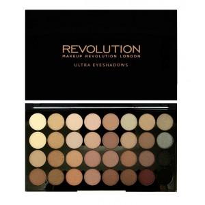 Buy Makeup Revolution Ultra 32 shade Eyeshadow Palette Beyond Flawless - Nykaa