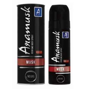 Buy Aramusk Perfume Body Spray - Musk - Nykaa