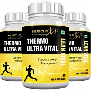 Buy MuscleXP Thermo Ultra Lean Vital Capsule (5 Stage Action) (Pack Of 3) - Nykaa