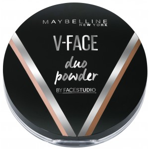 Buy Maybelline New York V-Face Duo Powder - Medium Dark - Nykaa