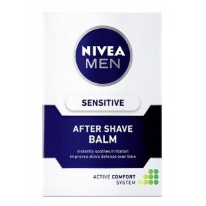 Buy Herbal Nivea For Men Sensitive After Shave Balm  - Nykaa