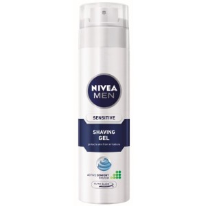 Buy Nivea For Men Sensitive Shaving Gel - Nykaa
