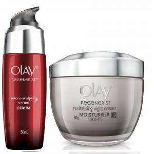 Buy Olay Regenerist Revitalizing Night Cream Micro-Sculpting Serum Regime - Nykaa