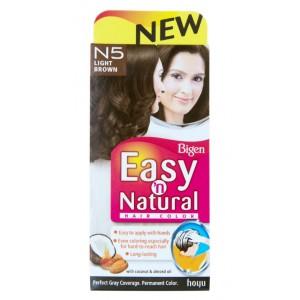 Buy Bigen Easy n Natural Hair Color - N5 Light Brown - Nykaa