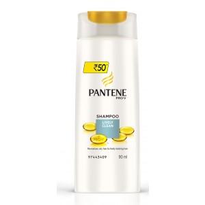 Buy Pantene Pro-V Lively Clean Shampoo - Nykaa