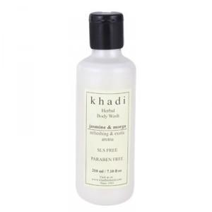 Buy Herbal Khadi Jasmine Mogra Body Wash - Nykaa