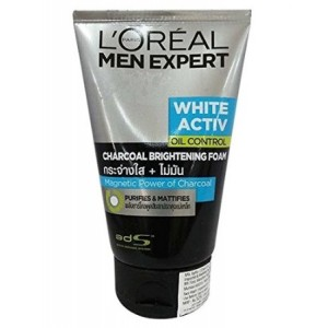 Buy L'Oreal Paris Men Expert White Activ Charcoal Foam - Nykaa