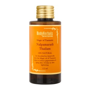 Buy BodyHerbals Ancinet Ayurveda Magic Of Turmeric Nalpamaradi Thailam - Nykaa