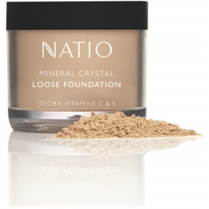 Buy Natio Mineral Crystal Loose Foundation - Nykaa