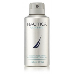 Buy Herbal Nautica Classic Deodorant Body Spray - Nykaa