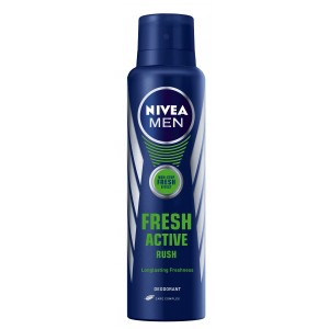 Buy Herbal Nivea Fresh Active Rush Deo Spray - Nykaa