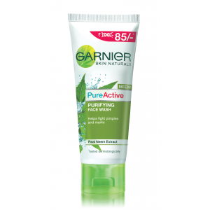 Buy Garnier Pure Active Neem Face Wash (Rs. 15 Off) - Nykaa