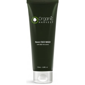Buy Organic Harvest Neem Face Wash Bse Free Active - Nykaa