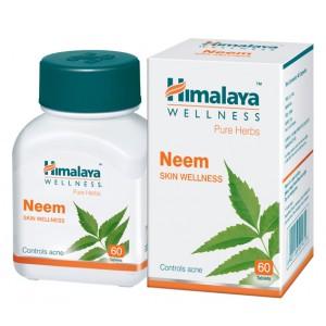 Buy Himalaya Wellness Neem Skin Care - 60 Capsules - Nykaa