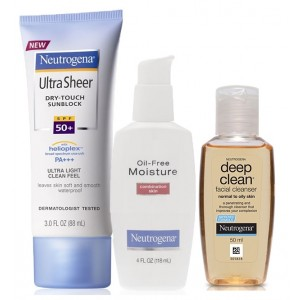 Buy Neutrogena Combination Skin Combo - Nykaa