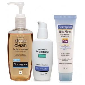 Buy Neutrogena Oily Skin Combo - Nykaa