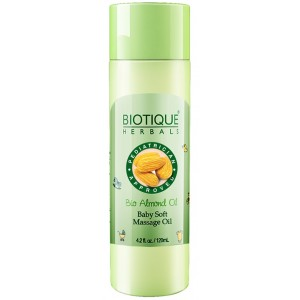Buy Biotique Bio Almond Oil Baby Soft Massage Oil - Nykaa