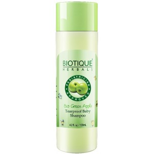 Buy Biotique Bio Green Apple Tearproof Baby Shampoo - Nykaa