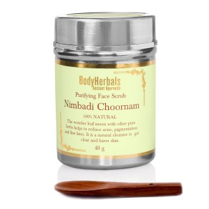 Buy BodyHerbals Ancient Ayurveda Nimbadi Choornam Purifying Face Scrub - Nykaa