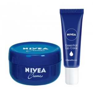 Buy Nivea Creme + Free Essential Lip Care Lip Tube - Nykaa