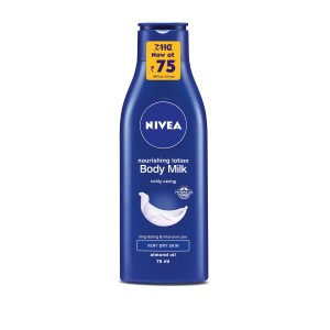 Buy Nivea Nourishing Body Milk  - Nykaa